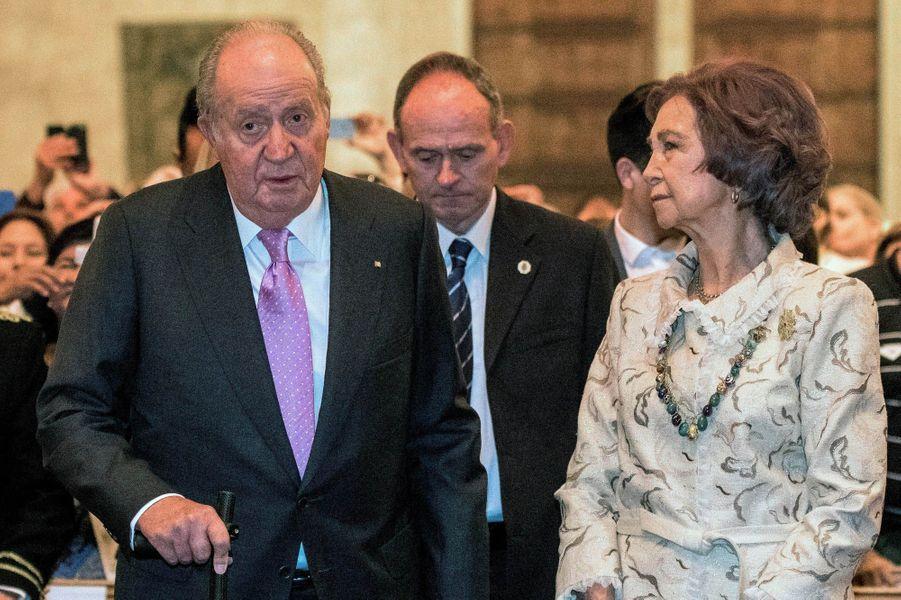 Juan Carlos et Sophie de Grèce