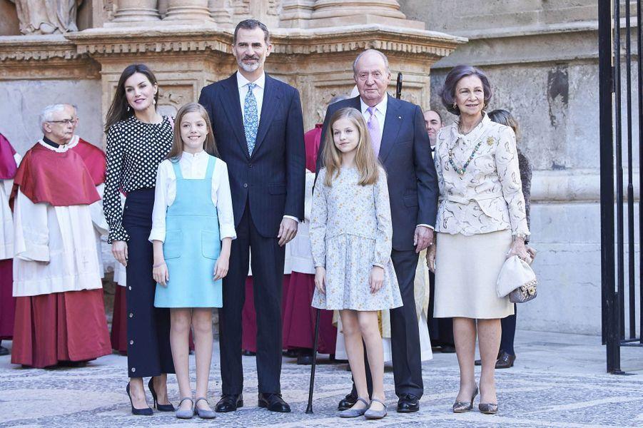 La famille royale espagnole