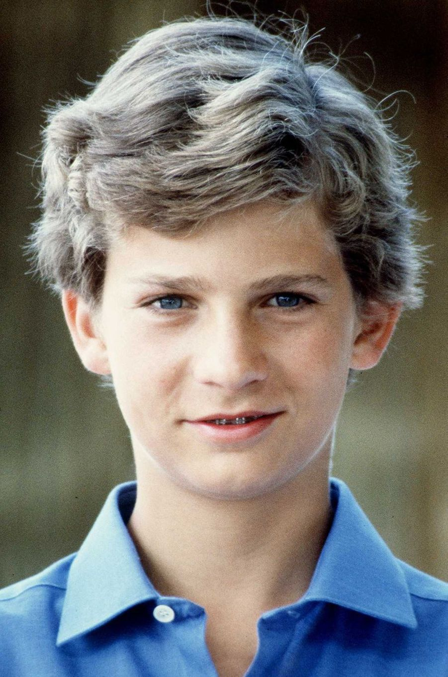 Le prince Felipe d'Espagne, le 5 août 1983