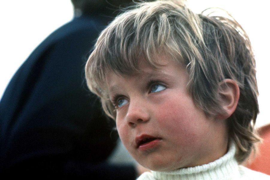 Le prince Felipe d'Espagne, le 17 janvier 1973