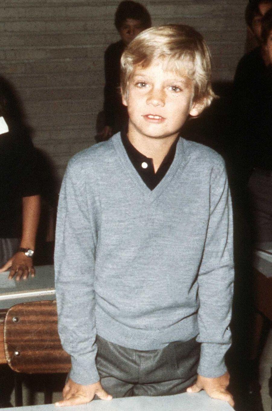 Le prince Felipe d'Espagne, le 17 septembre 1976