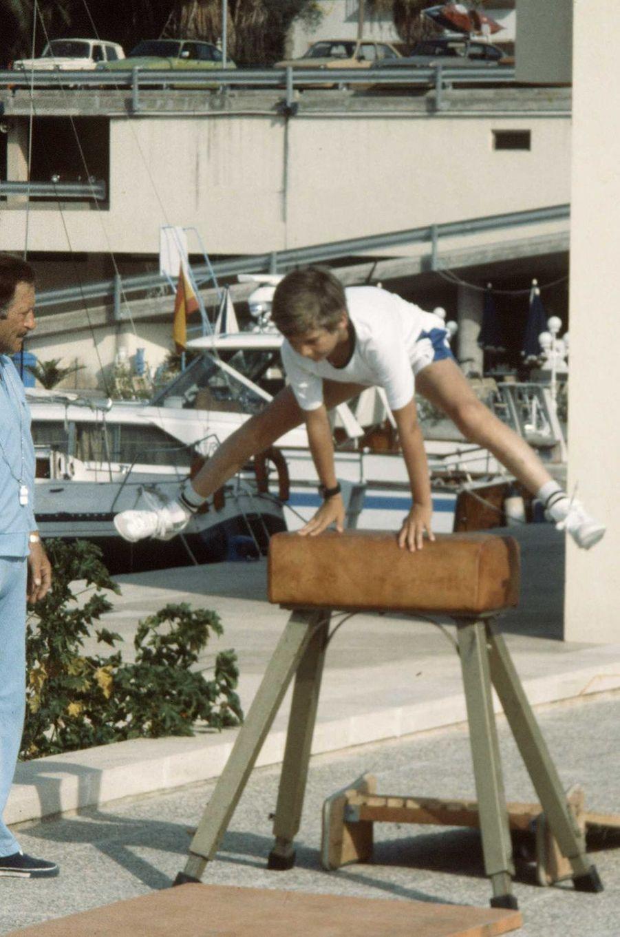 Le prince Felipe d'Espagne, le 5 juillet 1977