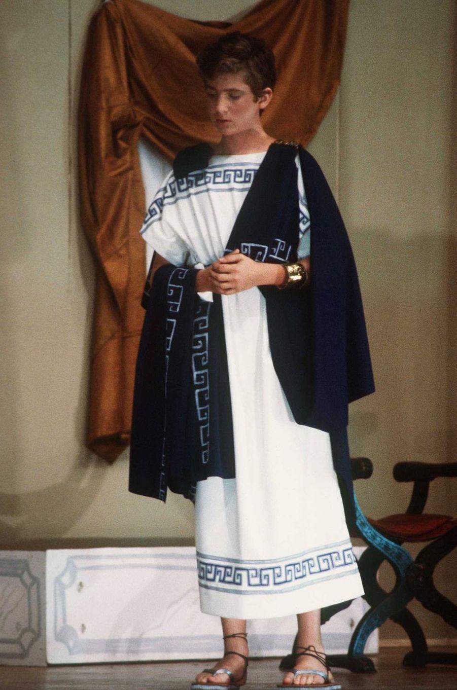 Le prince Felipe d'Espagne, le 1er juin 1984