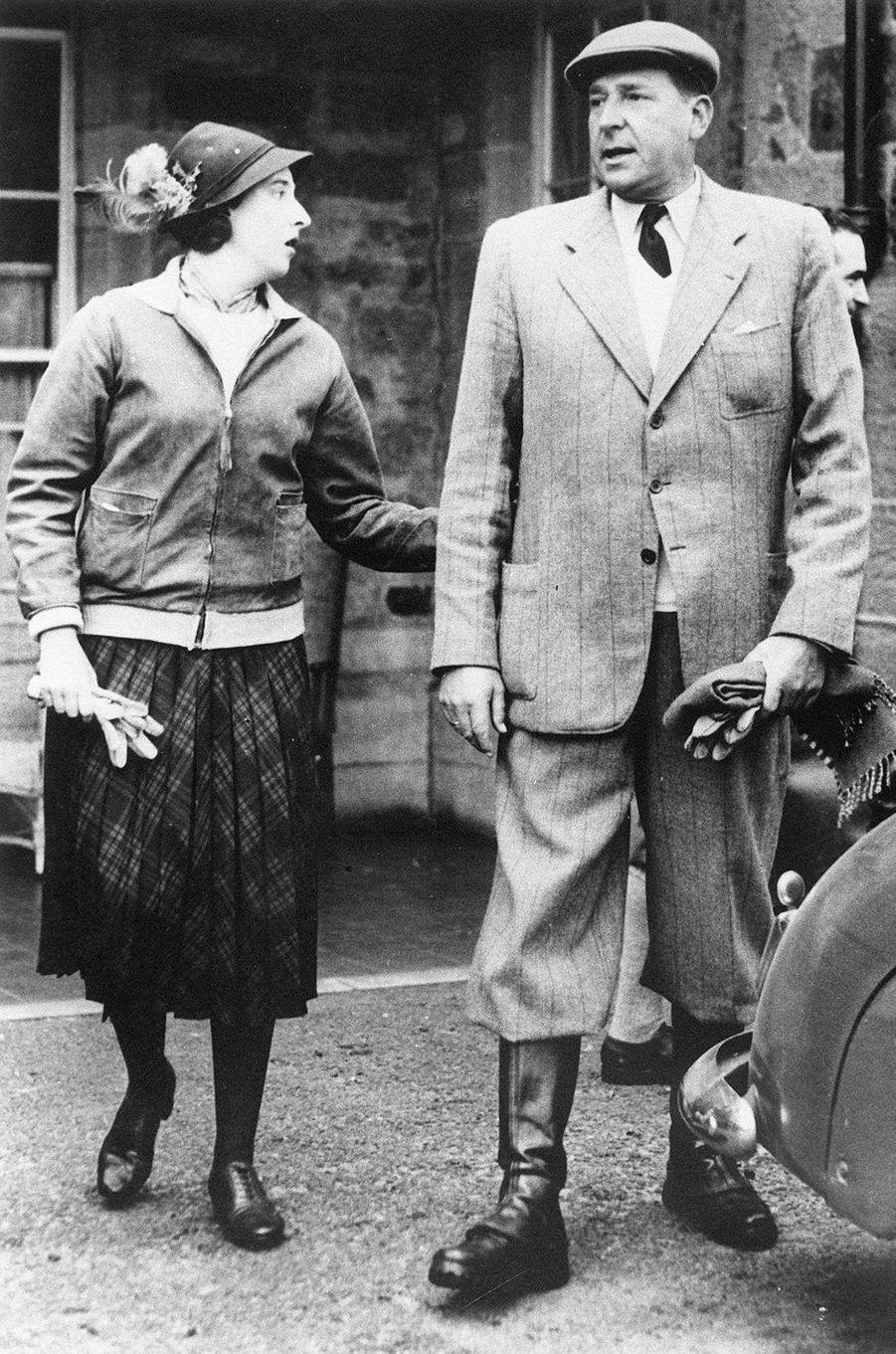 Le prince Juan et sa femme princesse Maria de la Mercedes