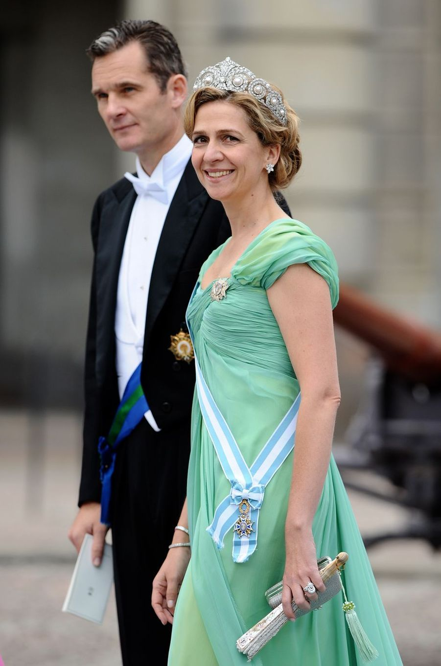 Inaki Urdangarin et la princesse Cristina d'Espagne, le 19 juin 2010