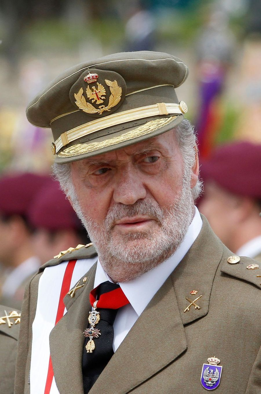 Le roi Juan Carlos Ier d'Espagne, le 18 mai 2011