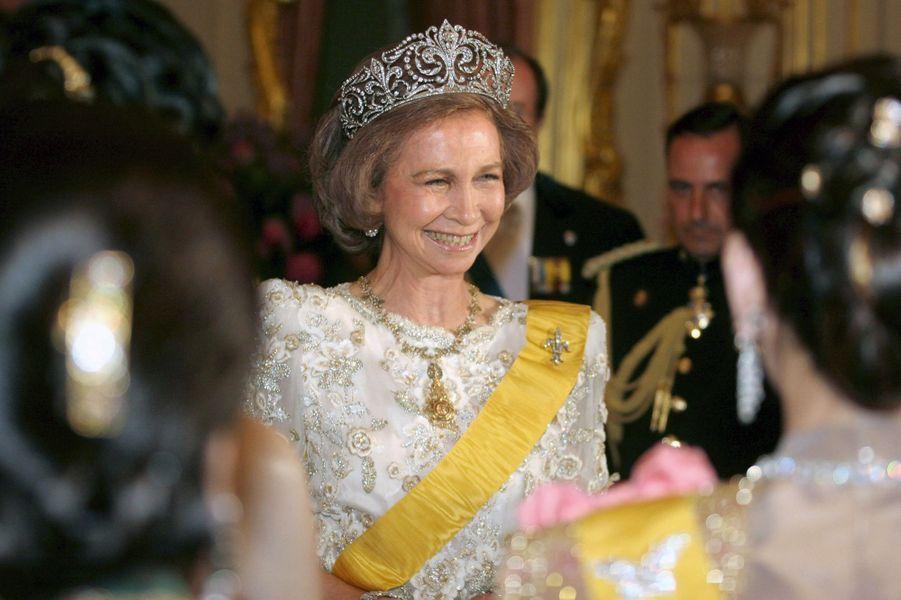 La reine Sofia d'Espagne, le 13 juin 2006