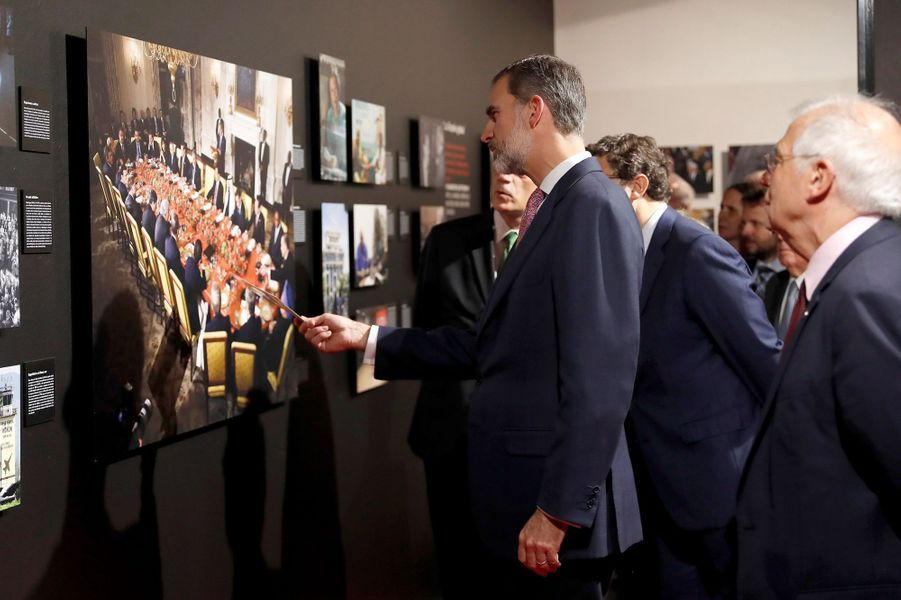 Le roi Felipe VI d'Espagne à Madrid, le 29 novembre 2018