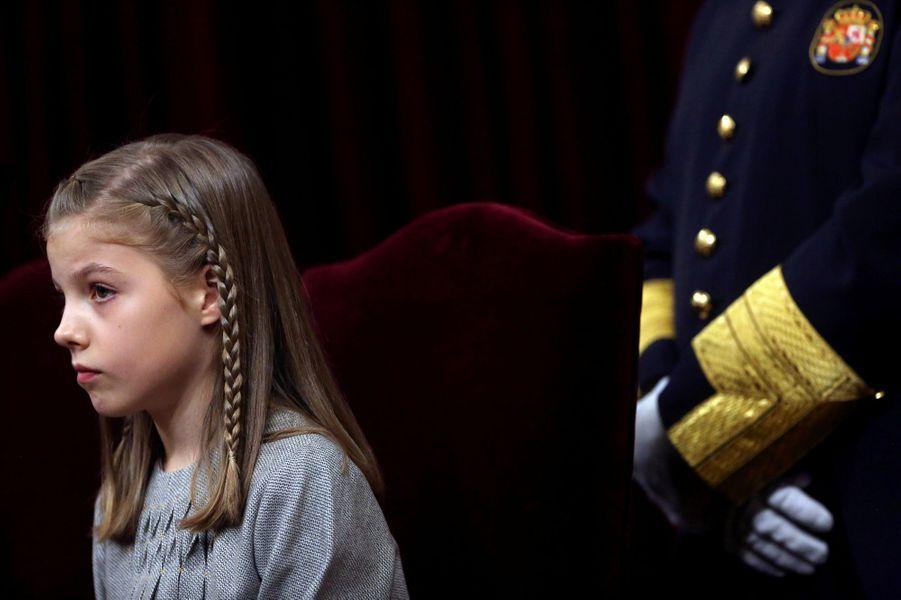 La princesse Sofia d'Espagne à Madrid, le 17 novembre 2016