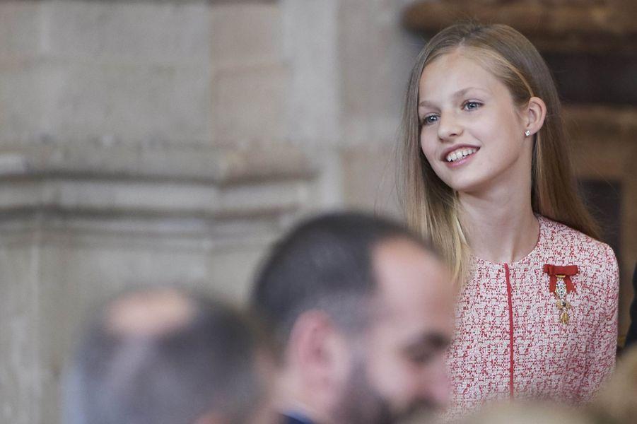 La princesse Leonor d'Espagne à Madrid, le 19 juin 2019