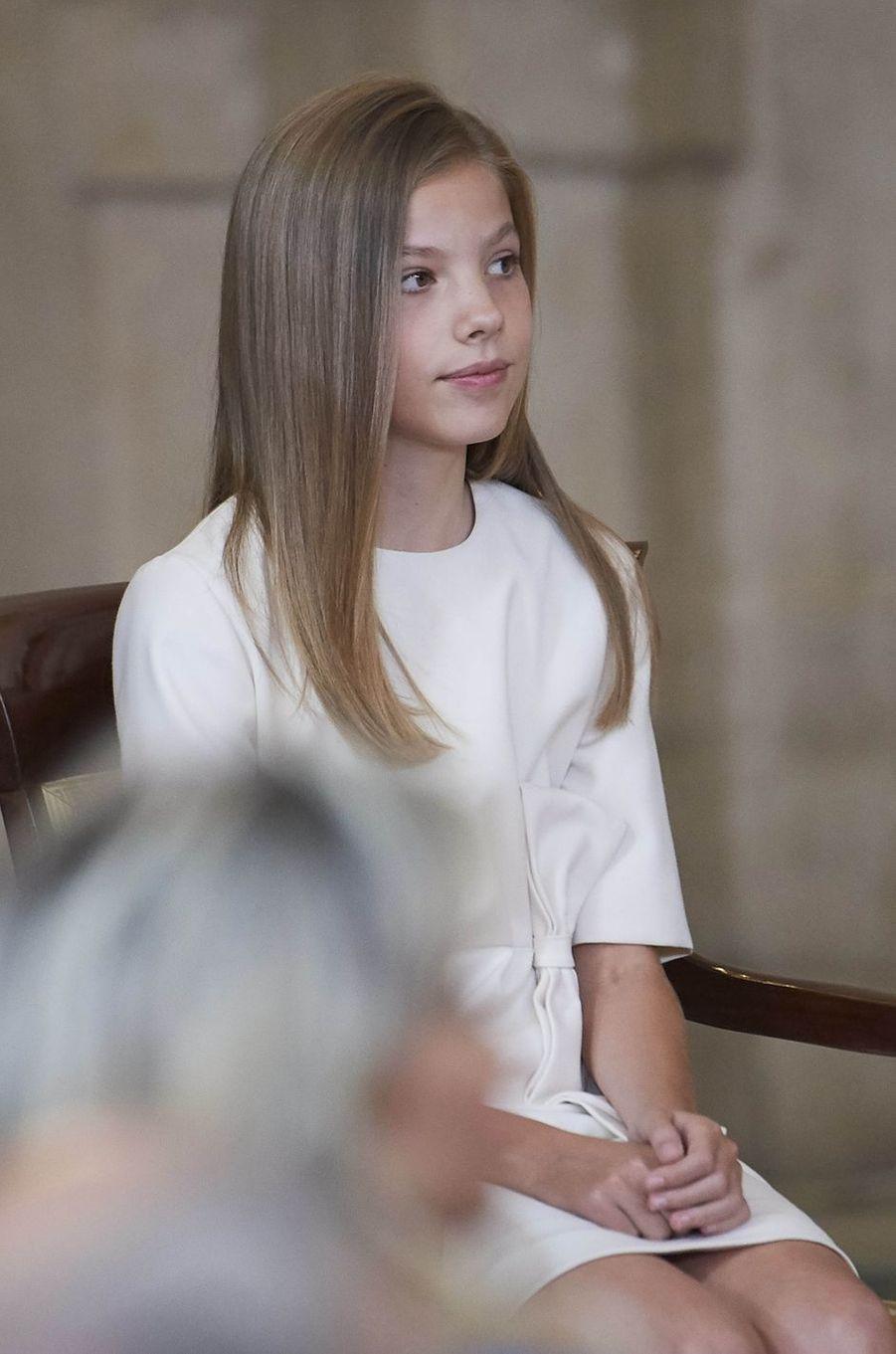 La princesse Sofia d'Espagne à Madrid, le 19 juin 2019