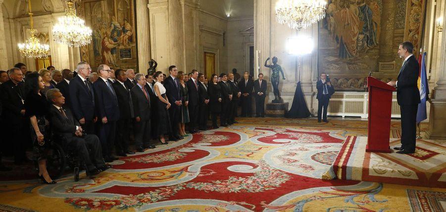 Le roi Felipe VI d'Espagne à Madrid, le 2 décembre 2019
