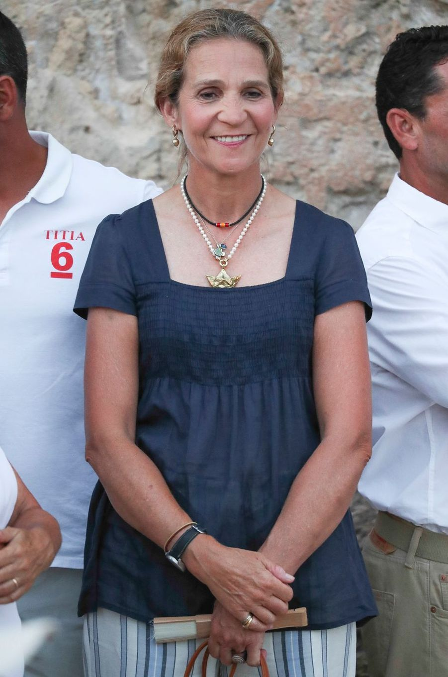 L'infante Elena d'Espagne à Palma de Majorque, le 4 août 2018