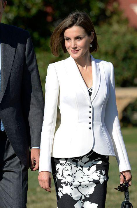 La reine Letizia d'Espagne à Mount Vernon, le 15 septembre 2015