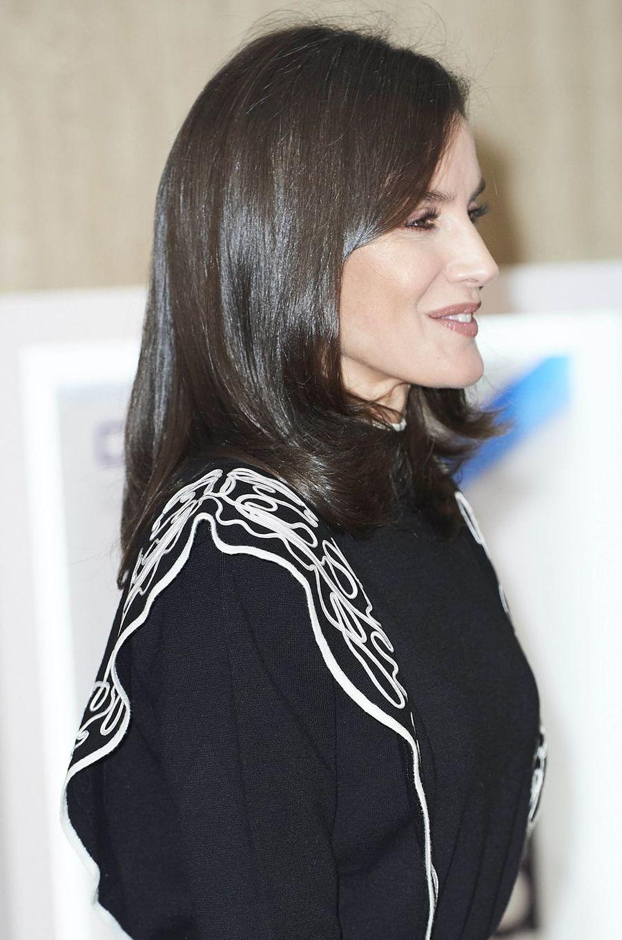 La reine Letizia d'Espagne, le 10 décembre 2019 à Madrid