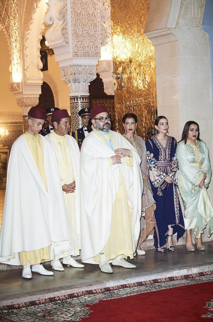 La famille royale du Maroc à Rabat, le 13 février 2019