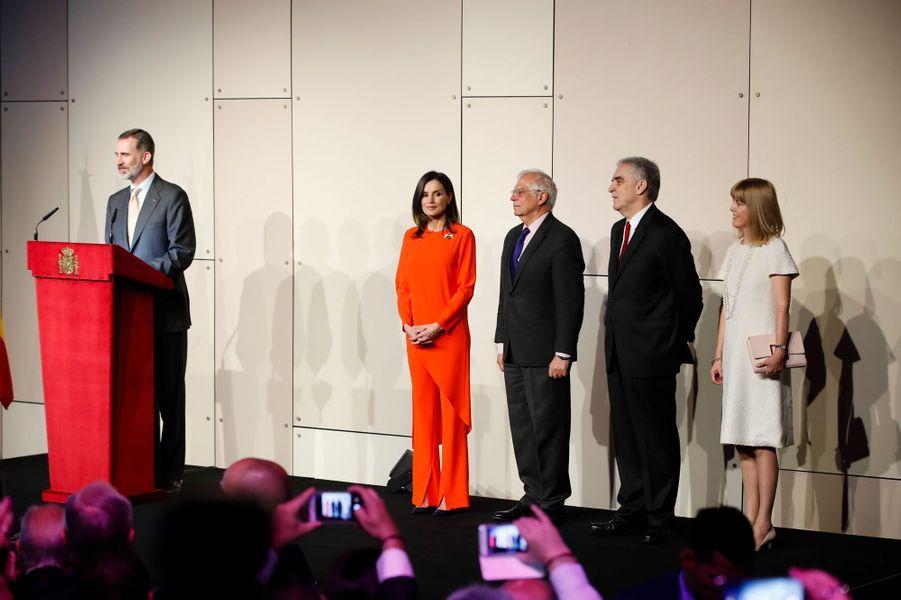 Le roi Felipe VI et la reine Letizia d'Espagne à Buenos Aires, le 26 mars 2019