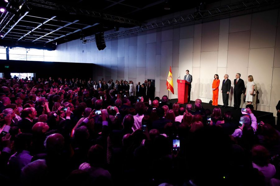 La reine Letizia et le roi Felipe VI d'Espagne à Buenos Aires, le 26 mars 2019
