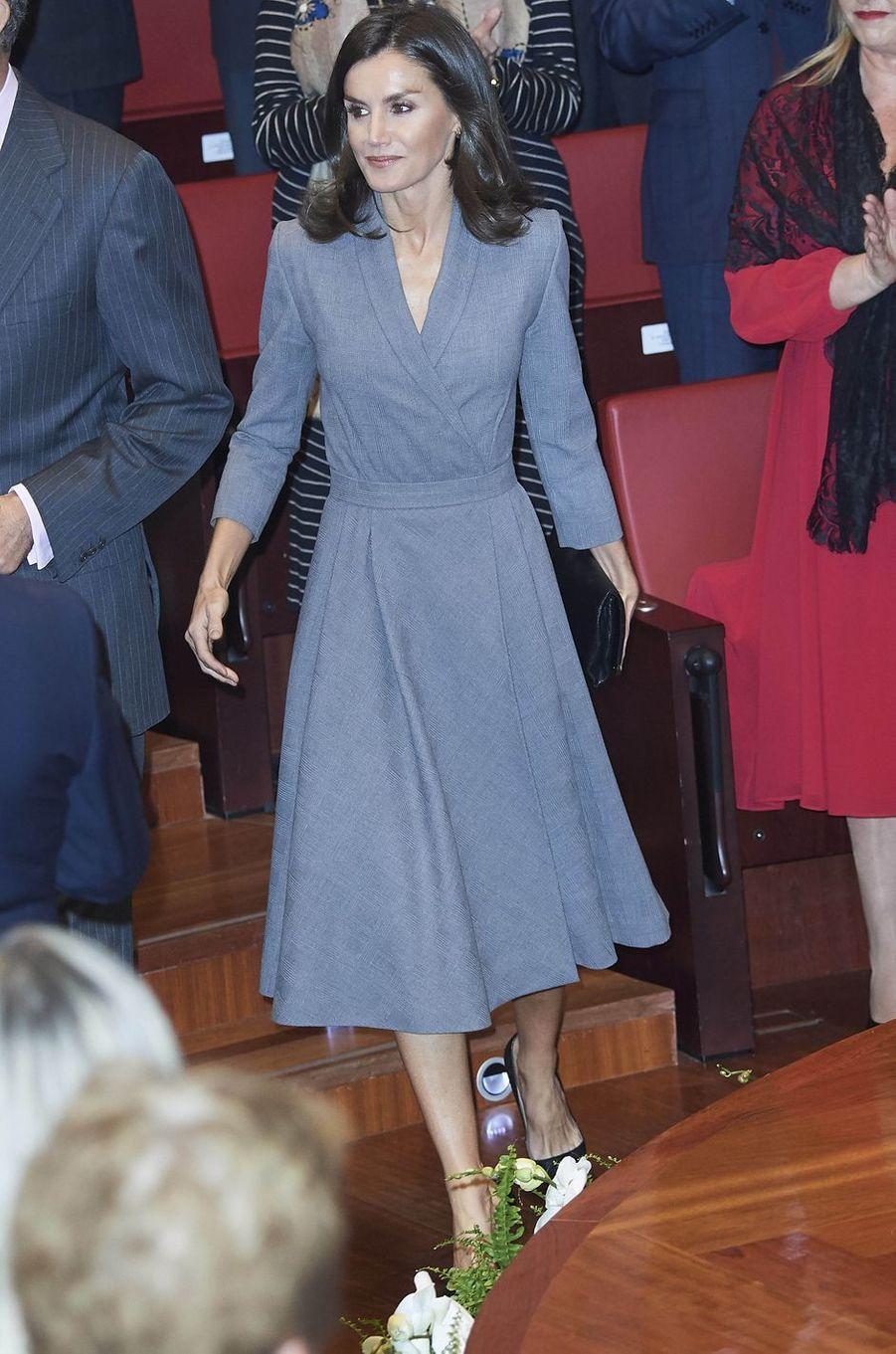 La reine Letizia d'Espagne à Madrid, le 26 novembre 2019