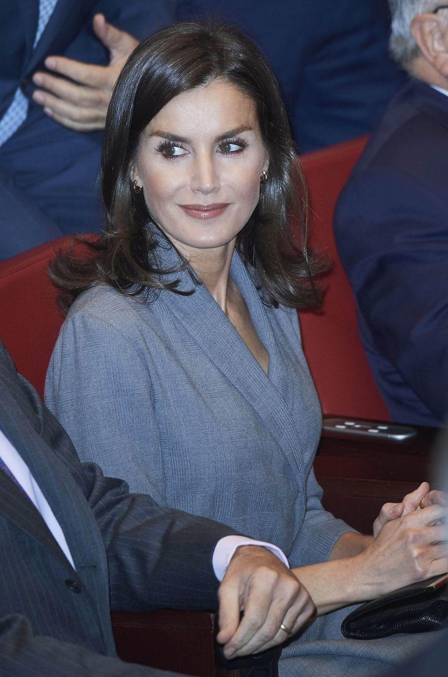 La reine Letizia d'Espagne, le 26 novembre 2019 à Madrid