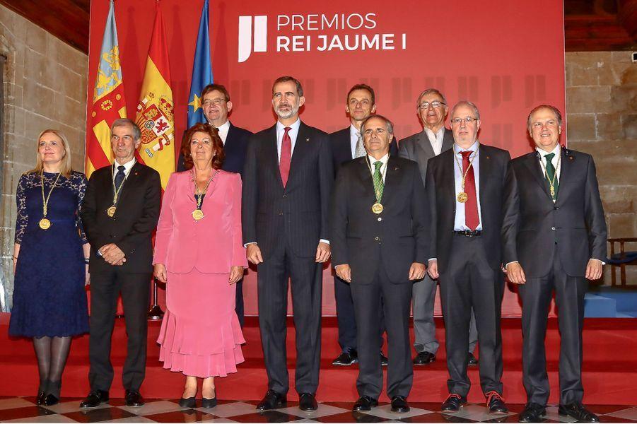 Le roi Felipe VI d'Espagne, le 7 novembre 2018 à Valence