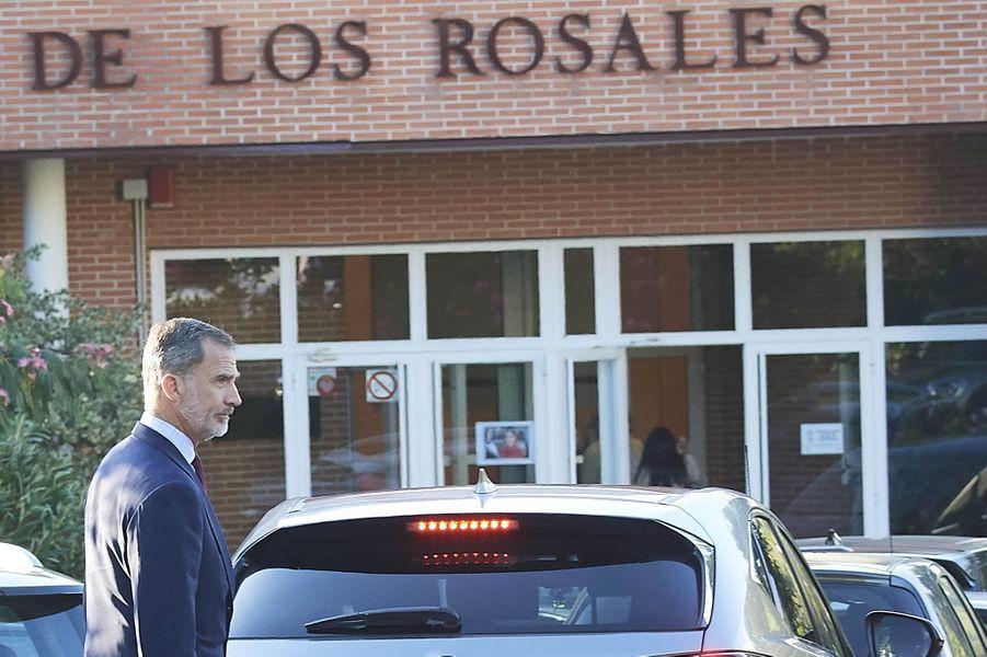 Le roi Felipe VI d'Espagne à Madrid, le 11 septembre 2019