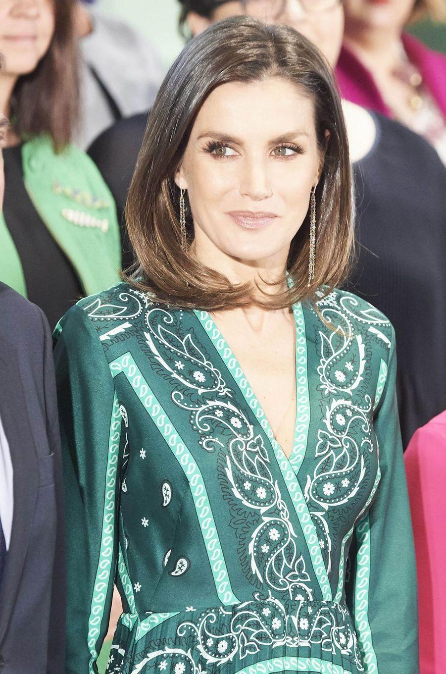 La reine Letizia d'Espagne, le 13 décembre 2018 à Madrid
