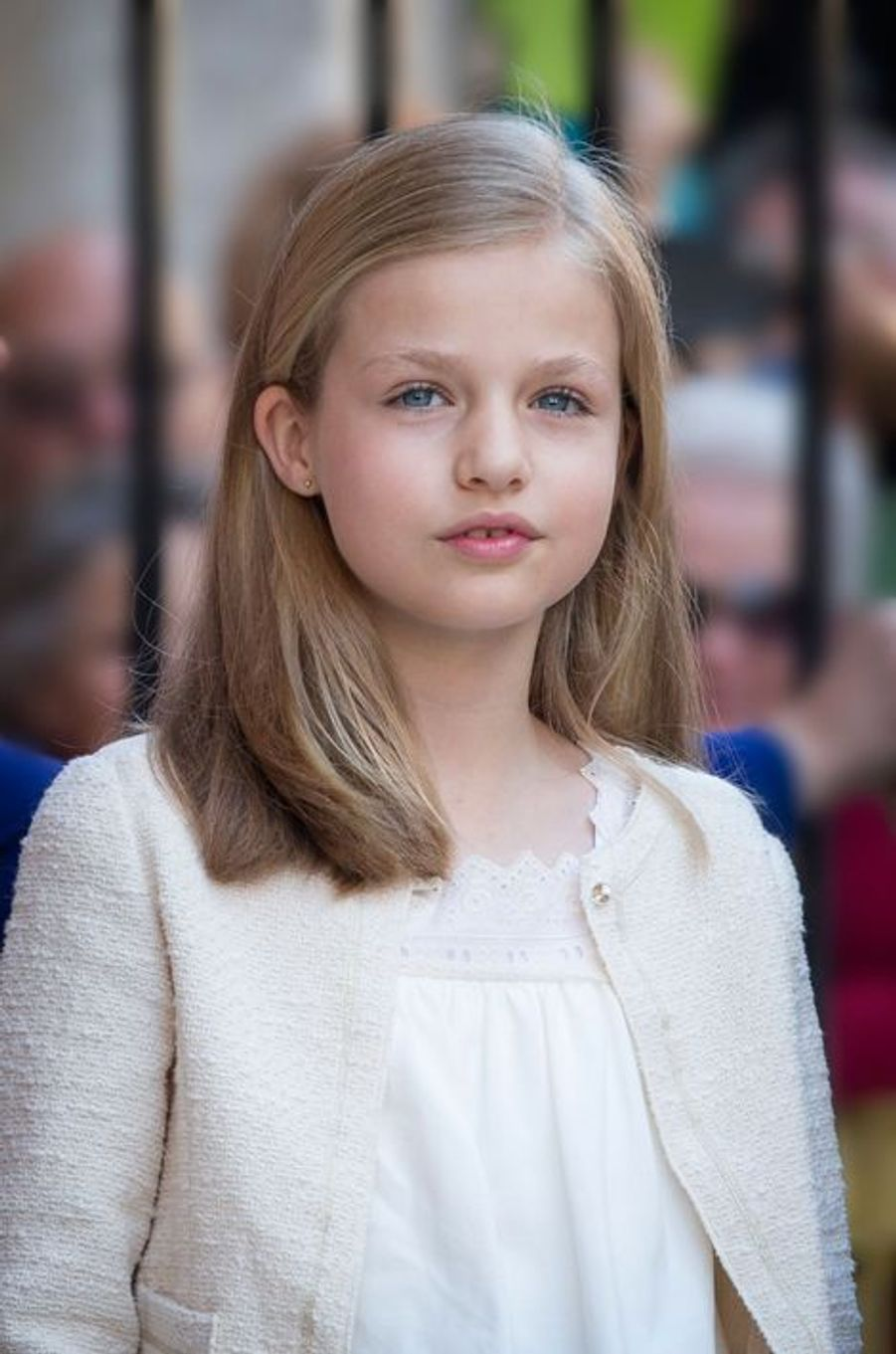 La princesse Leonor d'Espagne à Palma de Majorque, le 5 avril 2015