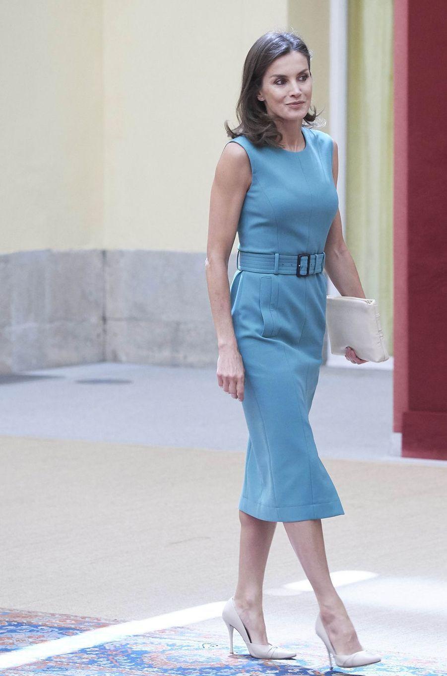 La reine Letizia d'Espagne à Madrid, le 26 juin 2019