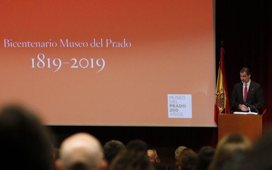 Le roi Felipe VI d'Espagne à Madrid, le 19 novembre 2018