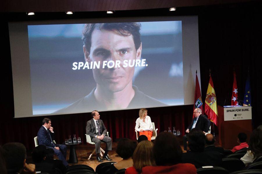 Présentation de la campagne «Spain for Sure» à Madrid, le 18 juin 2020