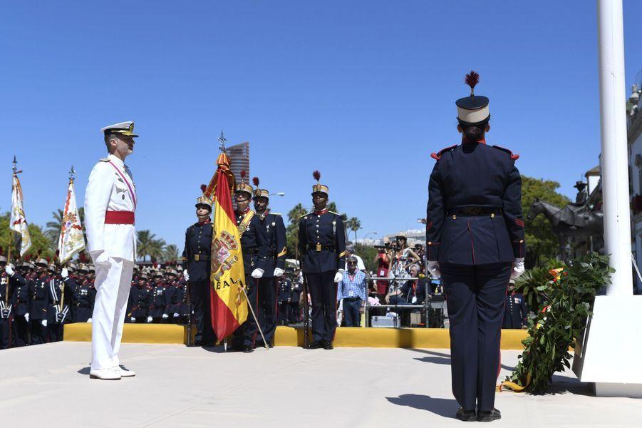 Le roi Felipe VI d'Espagne à Séville, le 1er juin 2019