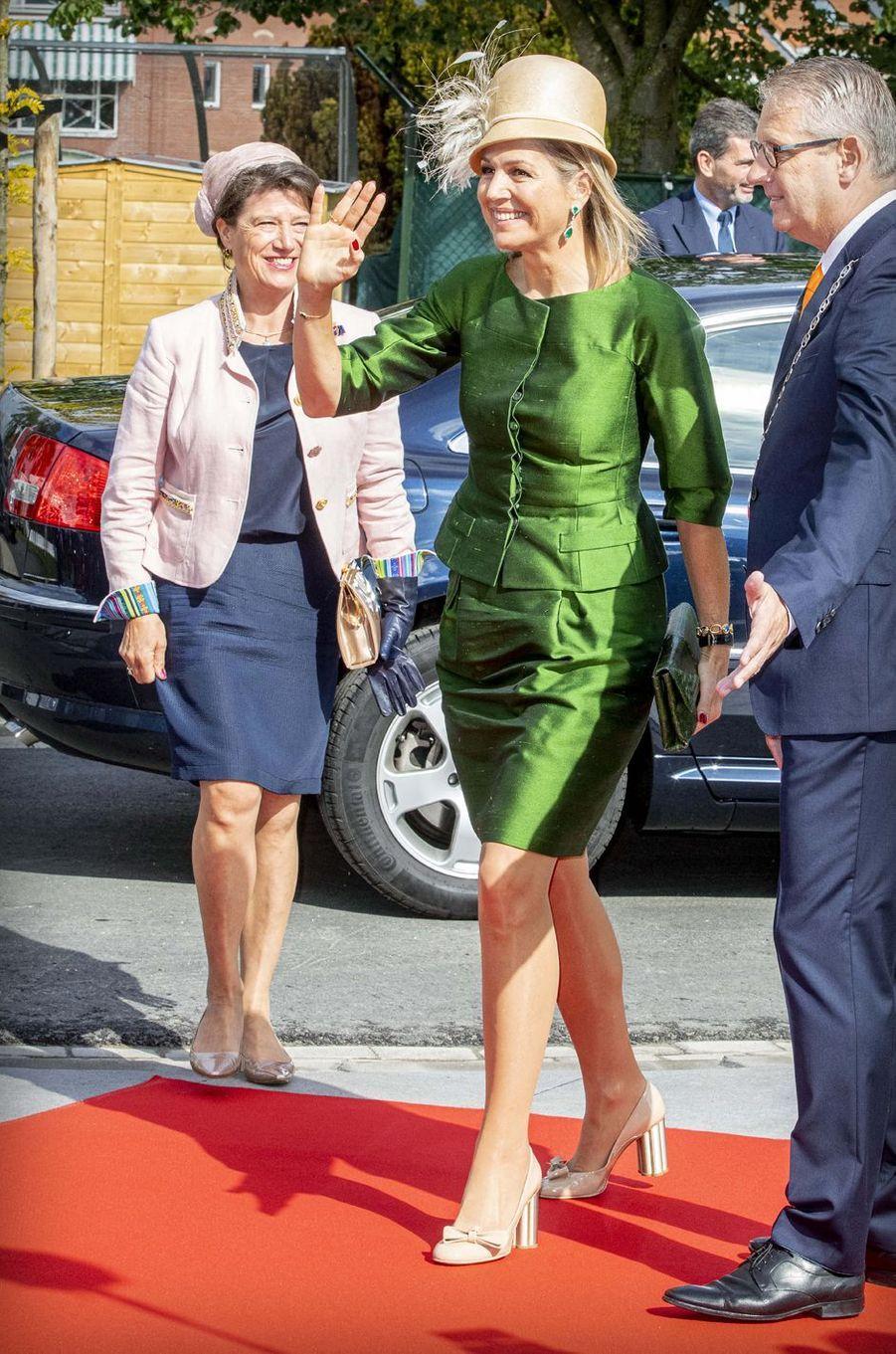 La reine Maxima des Pays-Bas à Steenbergen, le 28 mai 2019