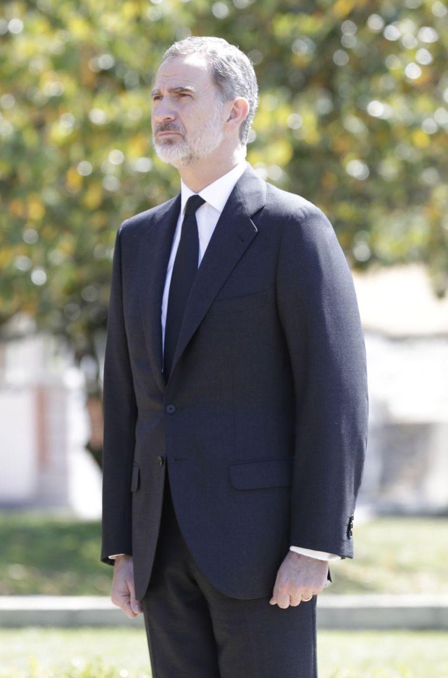 Le roi Felipe VI d'Espagne à Madrid, le 27 mai 2020