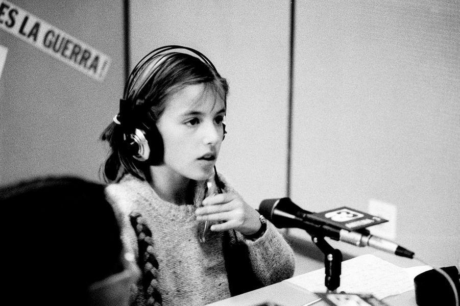 Letizia Ortiz en 1984