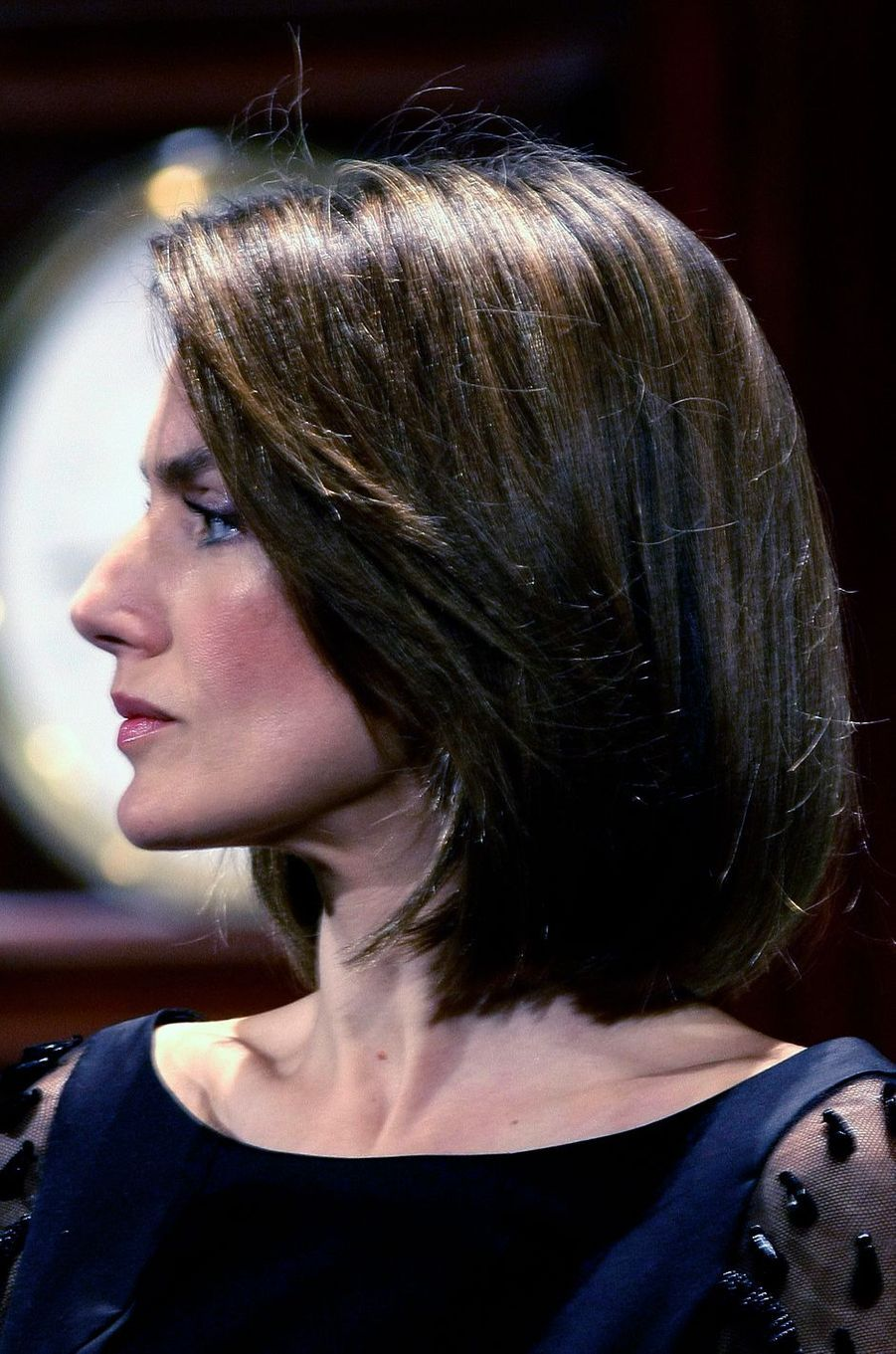 La princesse Letizia d'Espagne, le 26 mars 2008