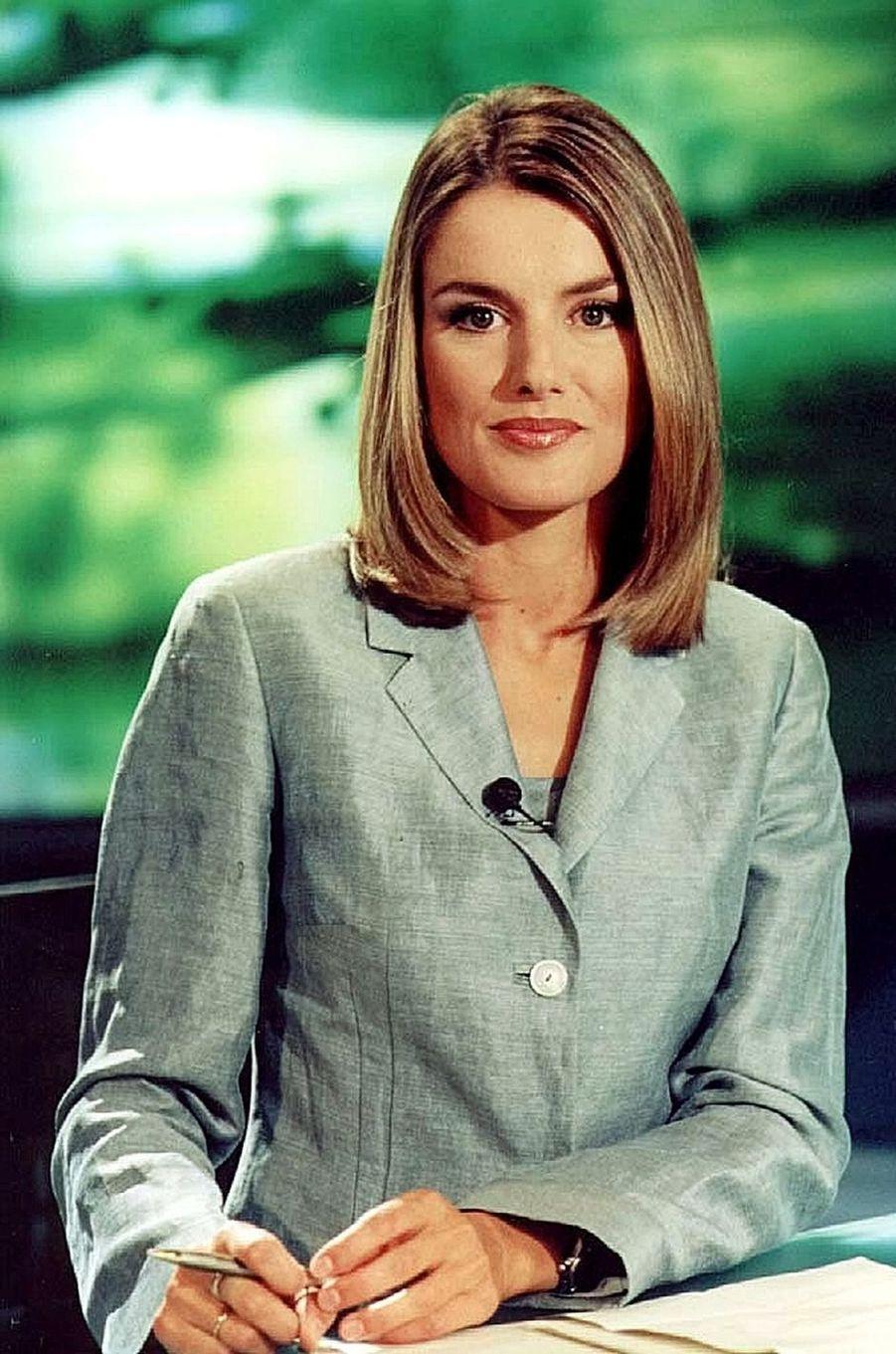 Letizia Ortiz le 11 septembre 2000