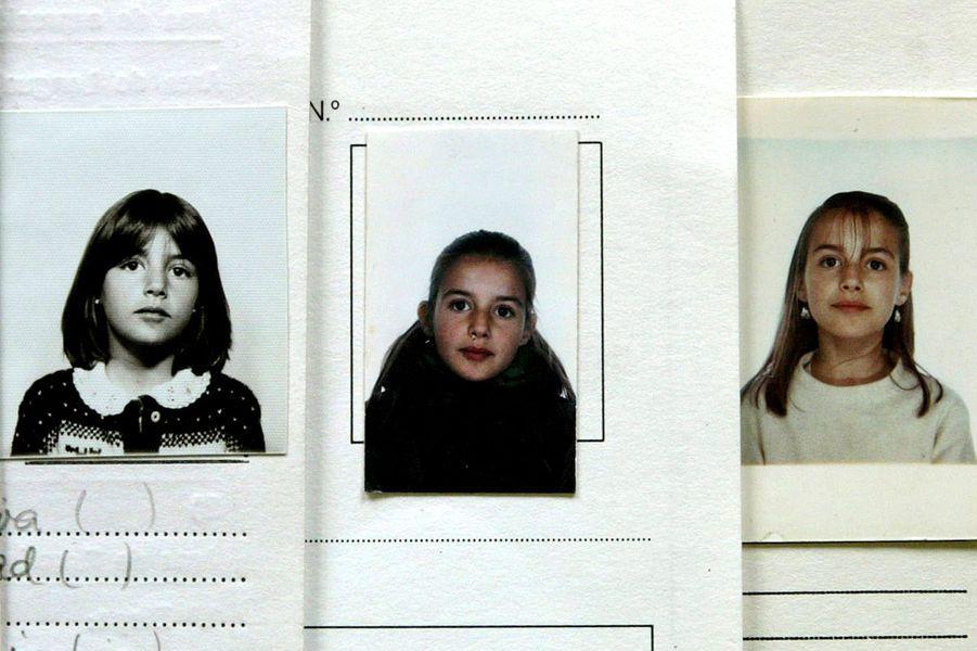 Letizia Ortiz à l'école primaire dans les années 1980