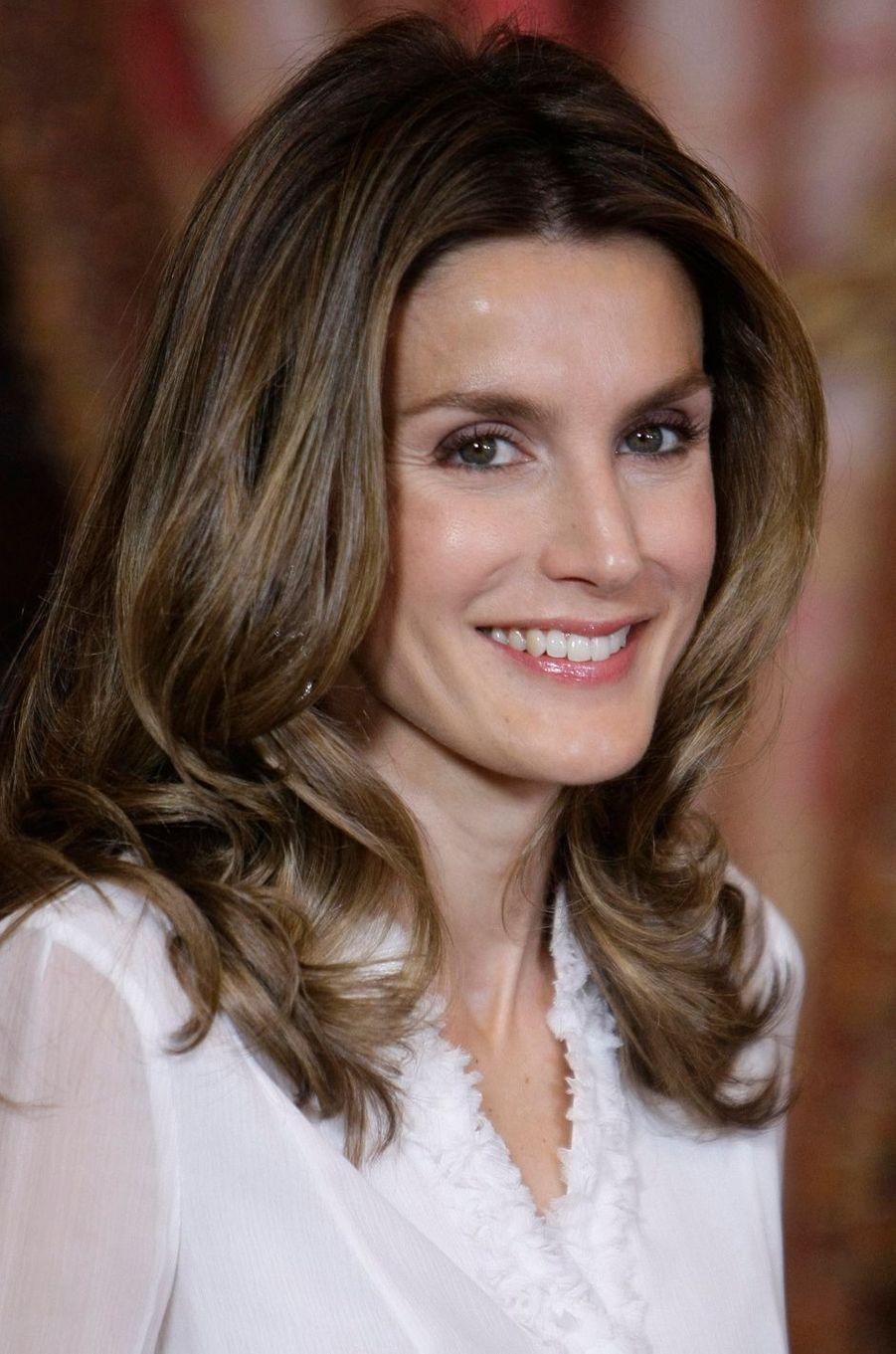 La princesse Letizia d'Espagne, le 16 novembre 2009