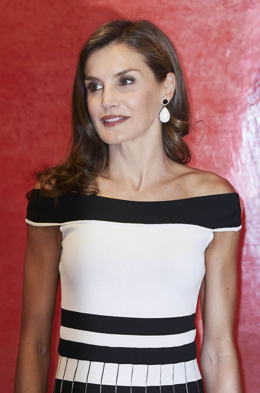 La reine Letizia d'Espagne, le 7 septembre 2017