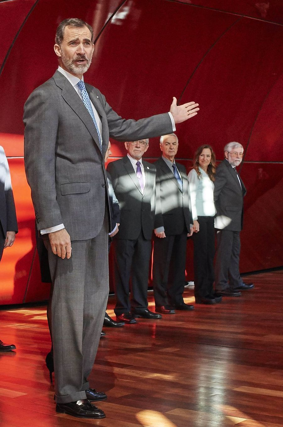 Le roi Felipe VI d'Espagne à Madrid, le 15 janvier 2018