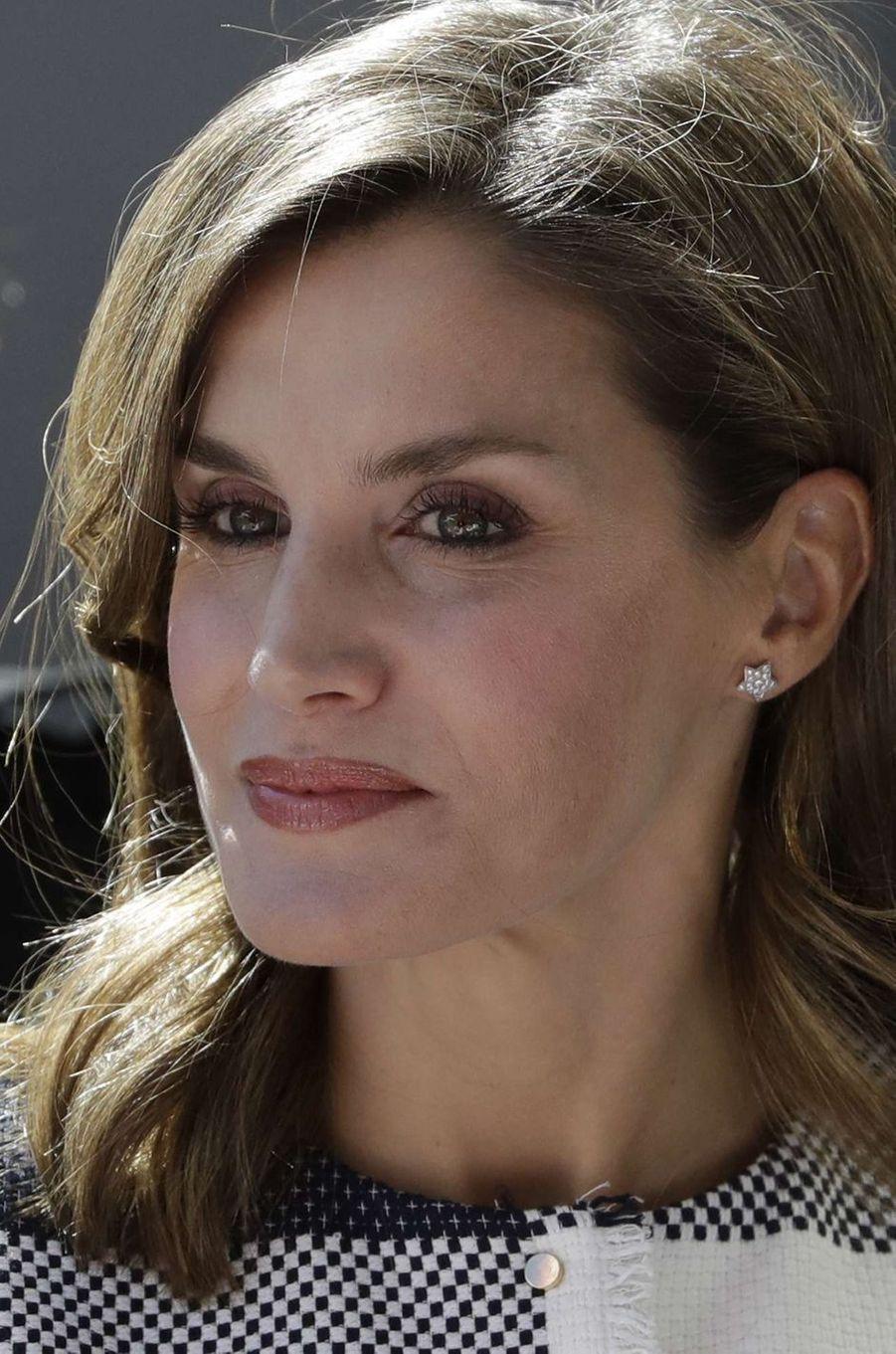 La reine Letizia d'Espagne au Mexique, le 13 novembre 2017