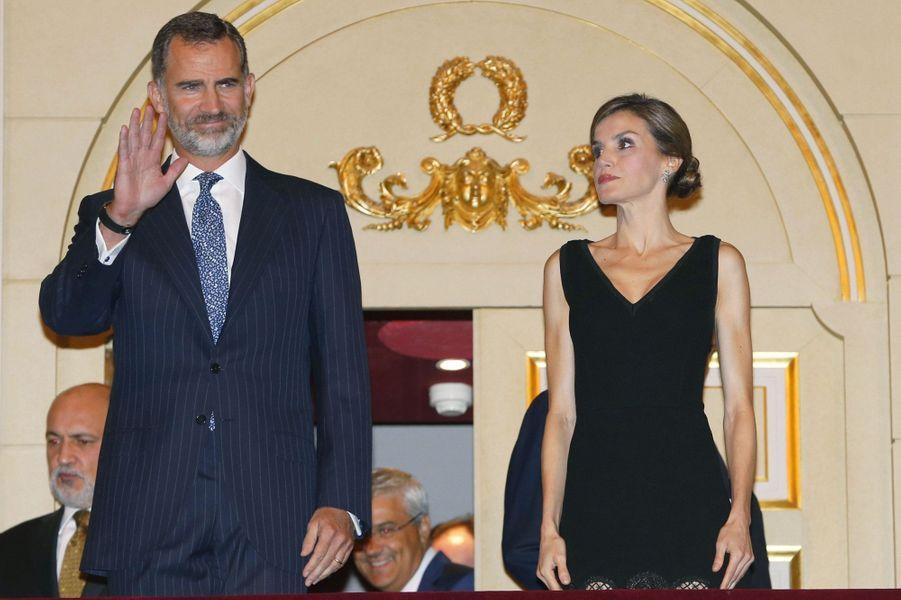 Letizia radieuse, le jour de ses 44 ans, pour Otello