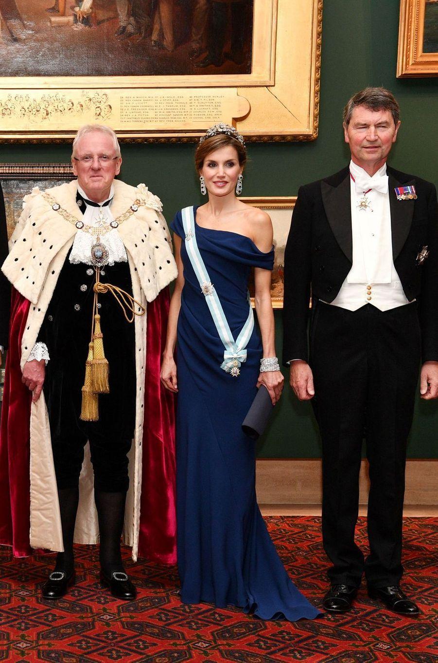 La reine Letizia d'Espagne, le 13 juillet 2017