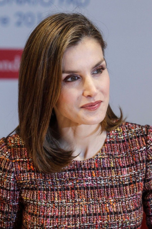 La Reine Letizia D'Espagne Lors D'une Réunion De La Fondation D'aide Contre La Toxicomanie 13