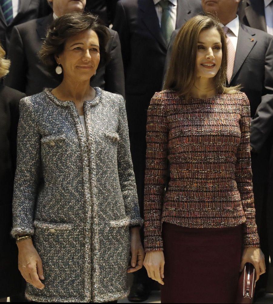 La Reine Letizia D'Espagne Lors D'une Réunion De La Fondation D'aide Contre La Toxicomanie 16