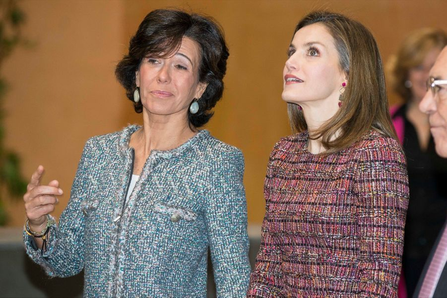 La Reine Letizia D'Espagne Lors D'une Réunion De La Fondation D'aide Contre La Toxicomanie 3
