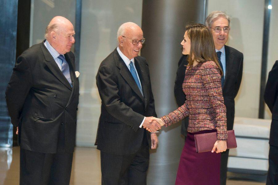 La Reine Letizia D'Espagne Lors D'une Réunion De La Fondation D'aide Contre La Toxicomanie 4