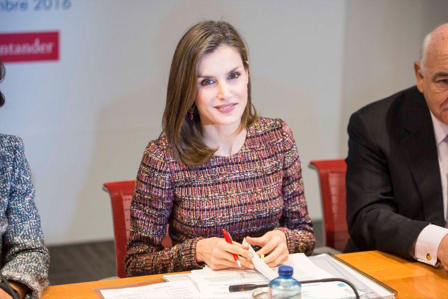 La Reine Letizia D'Espagne Lors D'une Réunion De La Fondation D'aide Contre La Toxicomanie 5