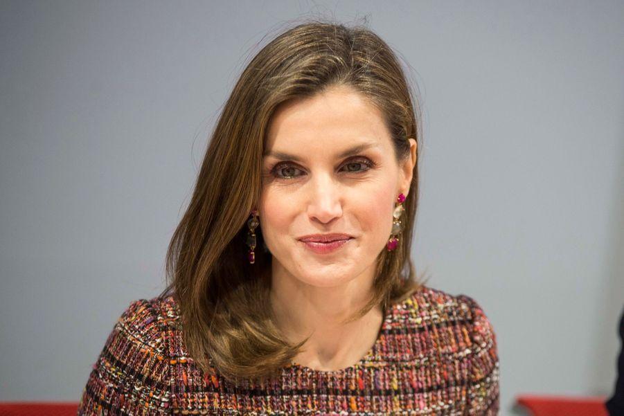 La Reine Letizia D'Espagne Lors D'une Réunion De La Fondation D'aide Contre La Toxicomanie 6